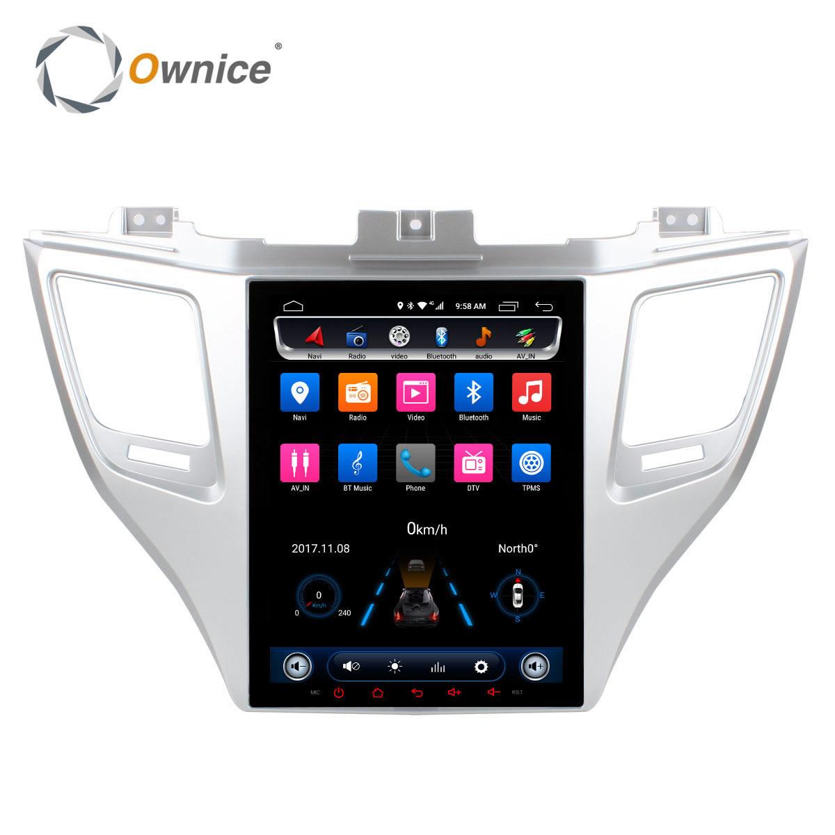 Ownice Android 6.0 Deux Din Lecteur DVD de Voiture Pour Hyundai TUCSON 2015 avec 2 GB RAM 32g rom GPS Radio Navigation Soutenir jeu de voiture dvr