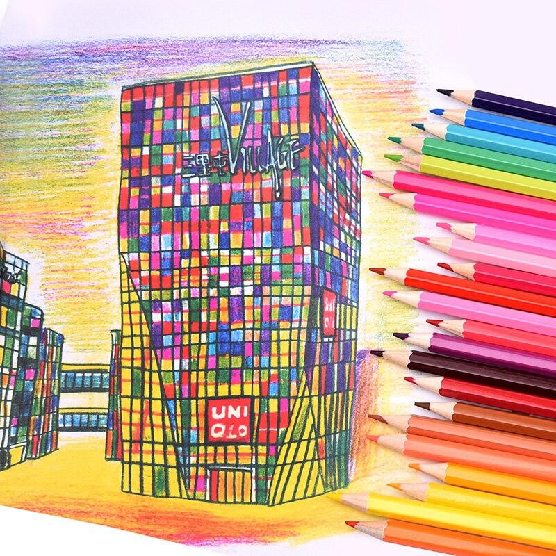 Lápis Comuns 120 cores de lápis conjunto Modelo Número : Colored Pencil Conjunto