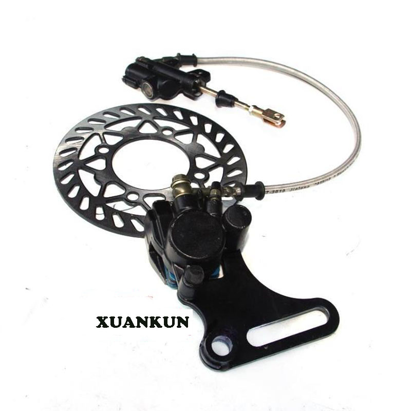 XUANKUN  Off-Road Motorcycle Accessories T8 PH 160 KTM Rear Brake Pump Brake Assembly After The Brake Card Embedded xuankun ktm 250 xtr250 off road motorcycle full set of plastic shells