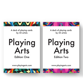 2 Decks Price Playing Arts Edition One & Edition Two V1 V2 Playing Cards New Deck Magic Tricks