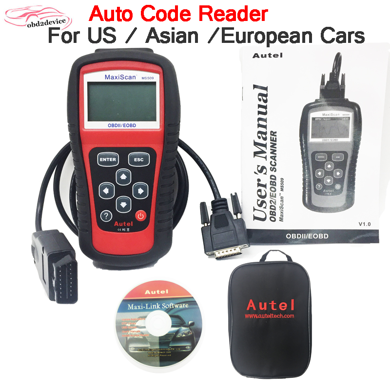 2020 Autel MS509 OBDII Auto OBD2 Scanner Maxiscan MS509 Automotive Diagnostic Multi Languages car Tool factory outlet|Code Readers & Scan Tools| |  - title=