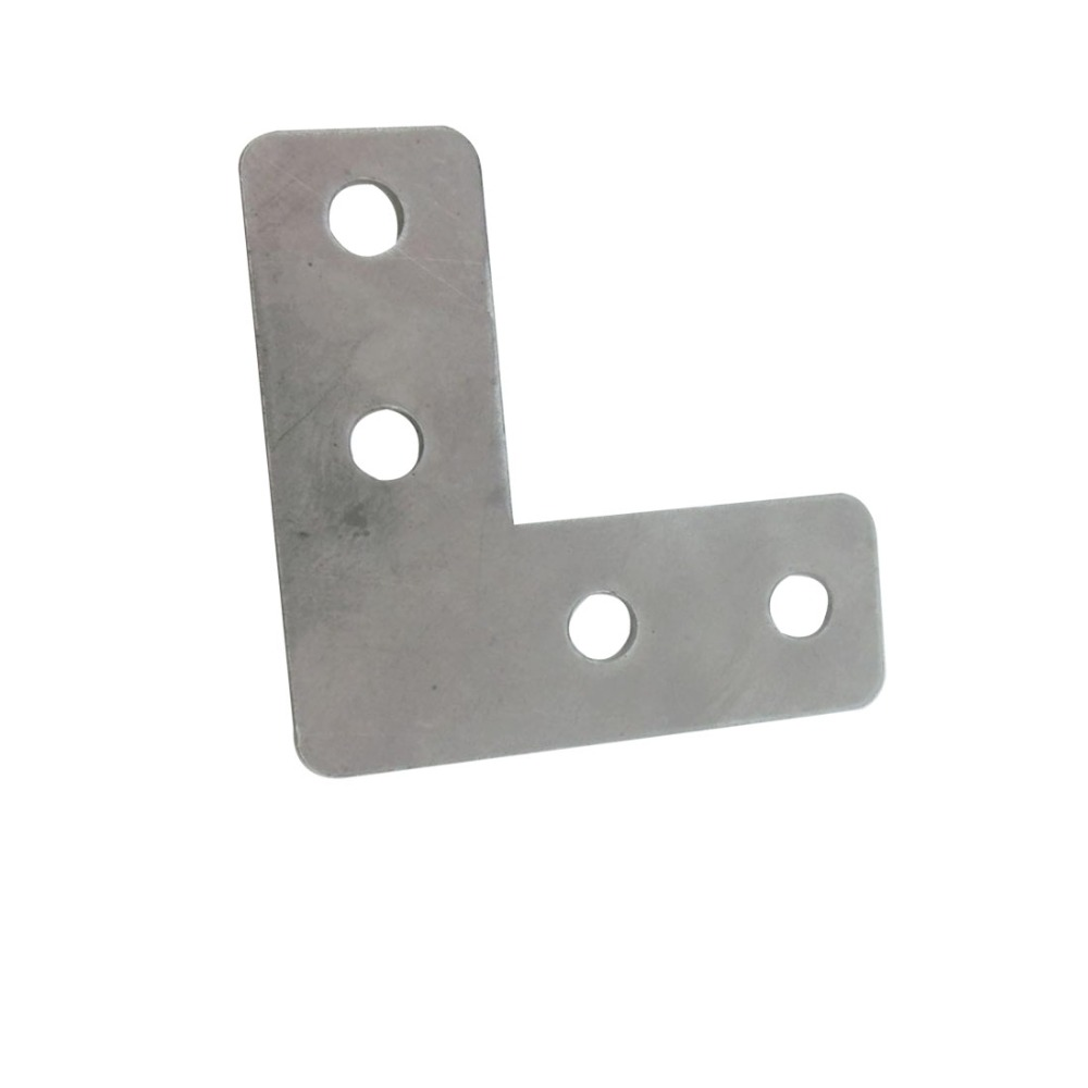 20pcs 40mm x 40mm L Type Bracket Stainless Steel 1mm Thickness Mending Repair Plate Connector Corner Angle Bracket dkny stanhope ny2406