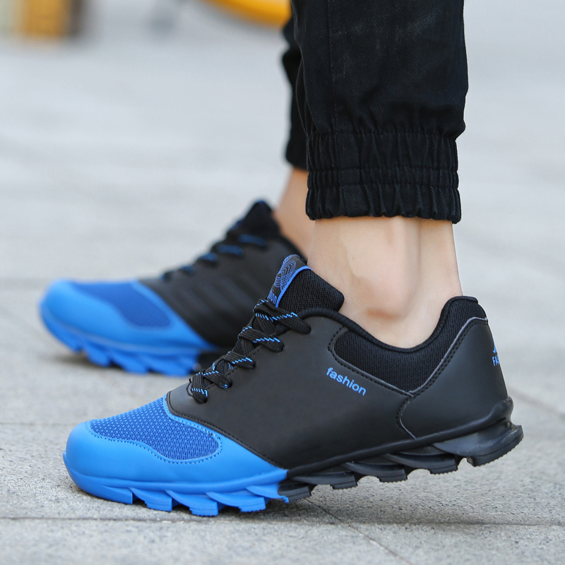 2fc1c987142 ... Mens Spring Autumn Casual Shoes ADS 2015 Brand New Trainers Male  Professional PU Leather Footwear 3  Mens Rematch Basketball ...