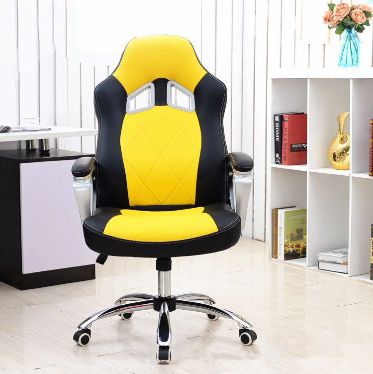 Comfortable Fashion Office Computer Chair Lifting Lying Leisure Boss Chair Rotary Strong Bearing Gaming Chair 240337 ergonomic chair quality pu wheel household office chair computer chair 3d thick cushion high breathable mesh