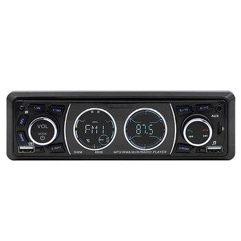 รถ Auto Muiltimedia MP3 เครื่องเล่นบลูทูธเสียง Vintage รถวิทยุหน้าจอ LCD MP3 สเตอริโอ USB AUX คลาสสิกรถสเตอริโอเสียง