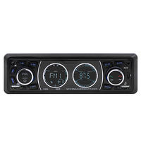 Car Auto Muiltimedia MP3 Player Bluetooth Audio Vintage Car Radio LCD Screen MP3 Player Stereo USB AUX Classic Car Stereo Audio
