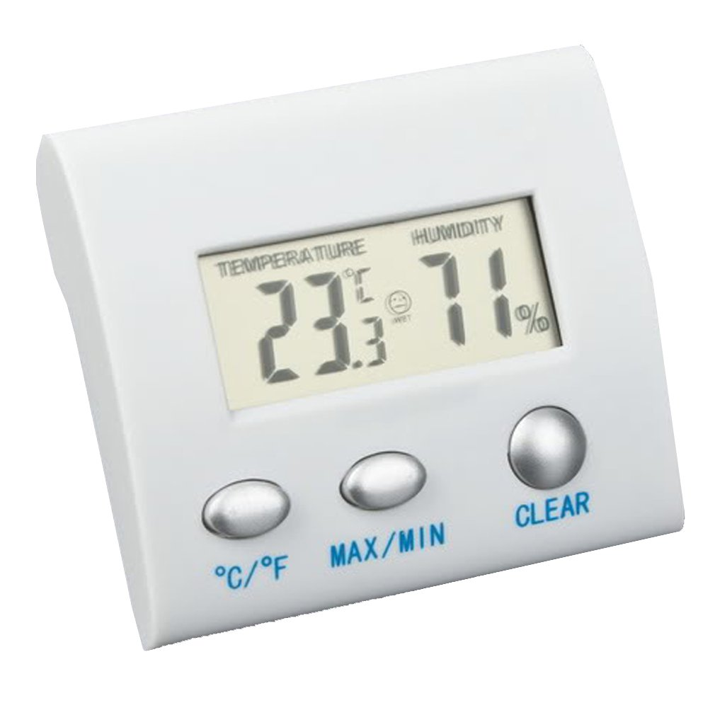 10x( Mini LCD Digital Thermometer Hygrometer Humidity Temperature Meter Indoor Gauge TOOGOO(R) cigar box shape 1 0 lcd electric thermometer humidity meter black 1 x ag13