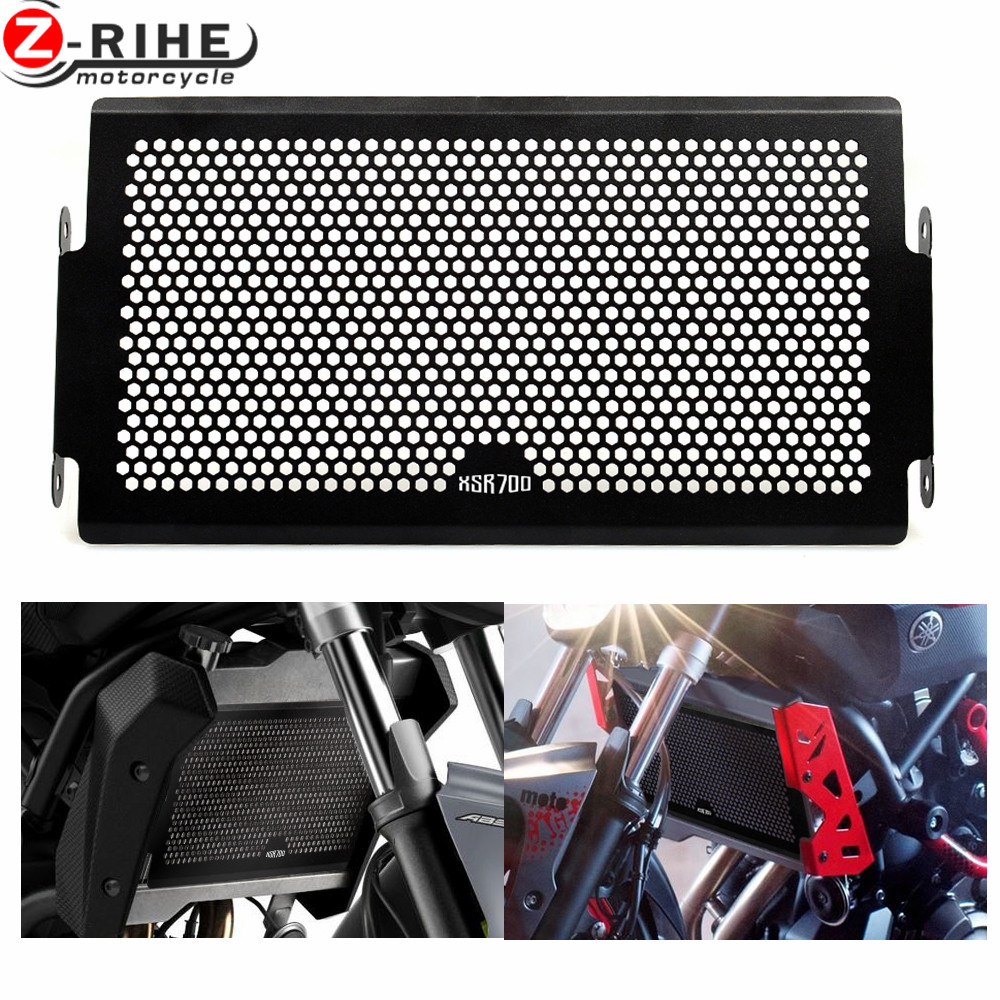 for Motorcycle accessories Engine Radiator Bezel Grille Protector Grille Guard Cover For Yamaha MT-07 FZ07 2014-2016 MT07 XSR700 arashi motorcycle radiator grille protective cover grill guard protector for 2008 2009 2010 2011 honda cbr1000rr cbr 1000 rr