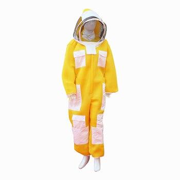 Костюм для пчеловодства трехслойный Новый тканевый костюм пчеловода защитная одежда для пчеловодства бесплатная доставка