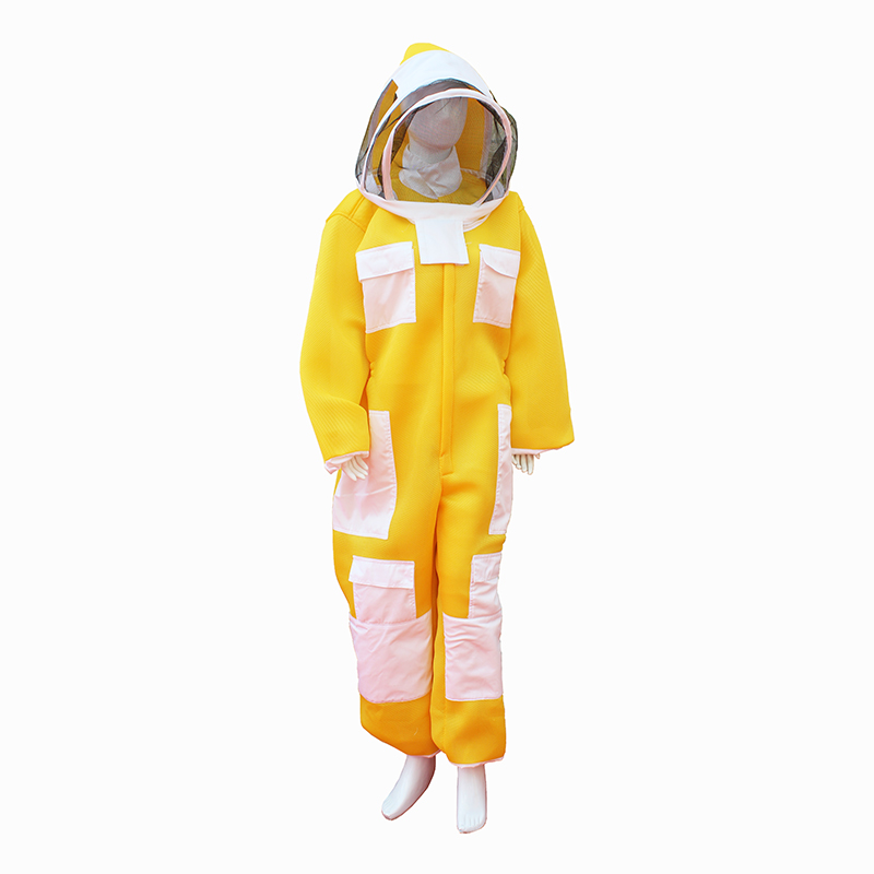 Beekeeping Suit Three-layer New Fabric Beekeeper Clothing Apiculture Protective Free Shipping