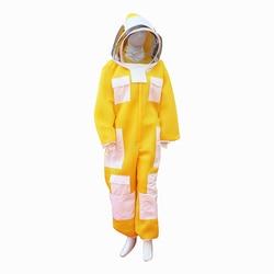 Bienenzucht Anzug Drei-schicht Neue Stoff Imker Kleidung Imkerei Schutz Kostenloser Versand