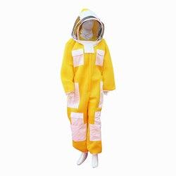 Traje apicultura de tres capas nueva tela ropa de apicultor apicultura protección envío gratis