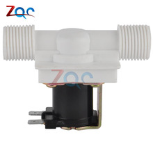 New Electric Solenoid Valve Magnetic DC 12V N/C Water Air Inlet Flow Switch AC 220V