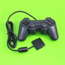 Wired Controller For Sony Playstation 2 Gamepad Double Vibration Clear Controle For Sony PS2 Joystick