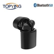 Mini Wireless In-Ear Earphone Bass Bluetooth Headset Hands Free Earphones Bluetooth Stereo Earbuds for Samsung iPhone 7 Xiaomi bluetooth headphone v4 1 wireless running earbuds earphone sweatproof headset aptx hands free for xiaomi samsung htc 10 iphone 7