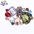 shoes clips decorative shop Shoe accessories shoe clip crystal rhinestones charm metal material N506