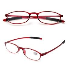 Мужские и женские очки для чтения, ультра-светильник, полимерные противоскользящие очки для дальнозоркости, диоптрий+ 1,0+ 1,5+ 2,0+ 2,5+ 3,0+ 3,5+ 4,0