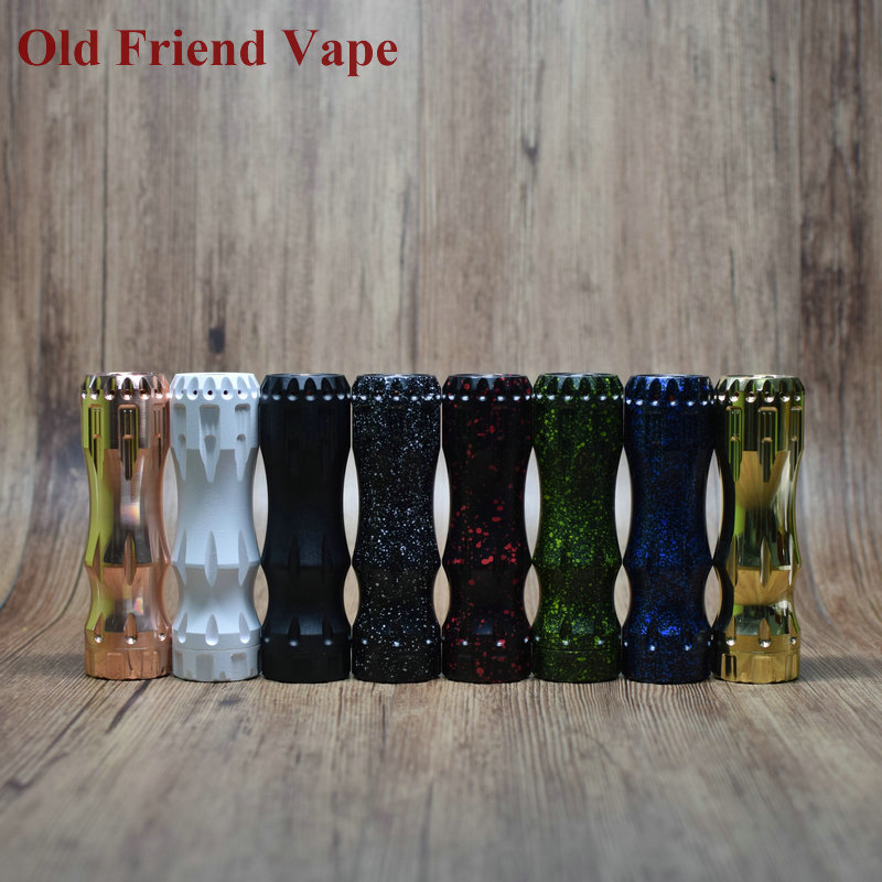 Old Friend Vape Newest Overlord Mod Competition Mechanical Tube Mod Compatible With 18650/21700/20700 Battery