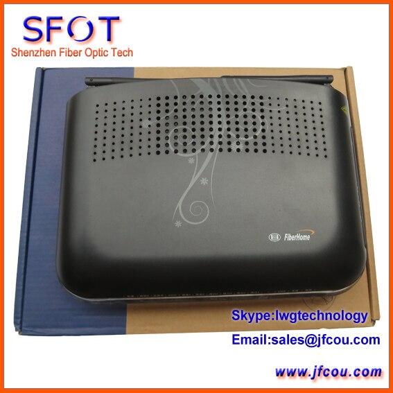 Оригинал FiberHome GPON AN5506-04-FG распространяется на режимах FTTH FTTO ОНУ. Поддерживает как SIP и H.248 portocol, с Функцией Wi-Fi