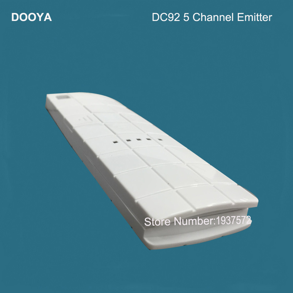 3-Original Dooya Home Automation Electric Curtain Motor KT320E-45W+DC92 5 Channel Emitter WIFI Control 220V50Hz 45W IOSAndroid