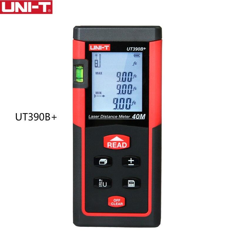 UNI-T UT390B + Haute Précision laser mètre de distance télémètre 40 m Mesure chasse laser télémètres laser distance mètres