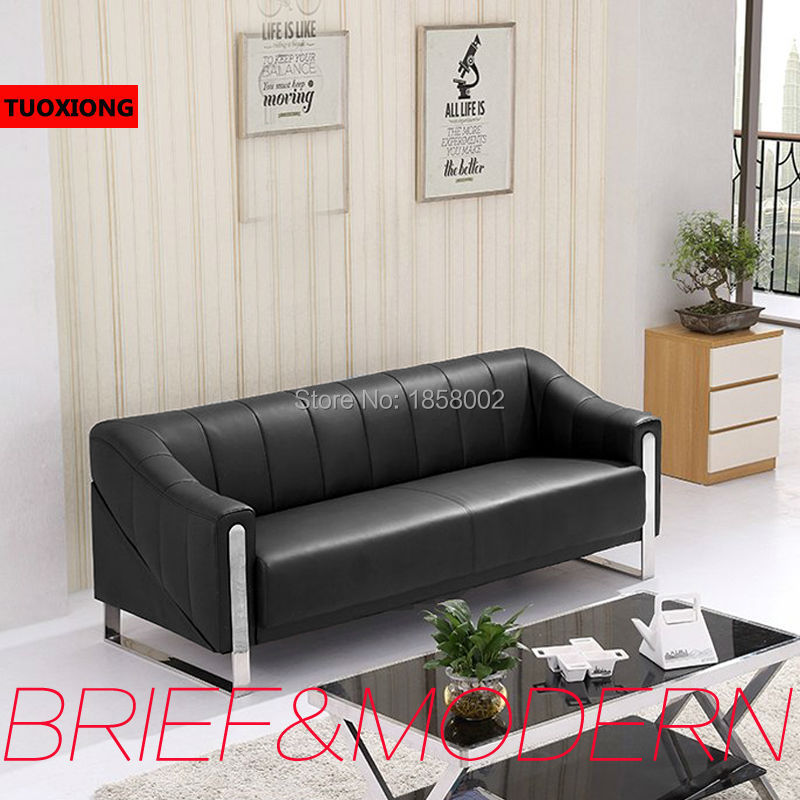 Business Office Sofa Coffee Table Set Furniture Salon Sofas Commercial Furnitures Executive Leather Chair In From On