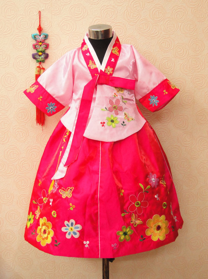 acc295d945ea ΞRabbit girls hanbok children s clothing dress spring and autumn ...