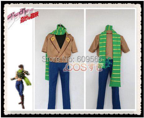 Free Shipping JoJo s Bizarre Adventure JOSEPH JOESTAR Cosplay Costume Perfect Custom For you