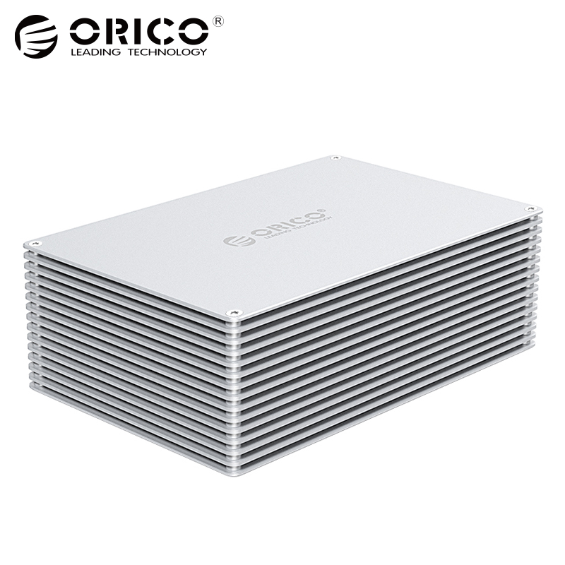ORICO 3.5 inch DIY HDD Enclosure Adapter USB 3.0 3.1 Type C to SATA Aluminum Dual Bay Single Bay Hard Drive Box External Case orico 3 5 inch diy hdd enclosure adapter usb 3 0 3 1 type c to sata aluminum dual bay single bay hard drive box external case