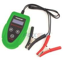 FOXSUR 12 V Analisar testador de bateria de Carro Bateria Auto Carga Do Carro Ferramenta de Diagnóstico Bateria SLA AGM Gel MOLHADO CA CCA IR SOH Scanner