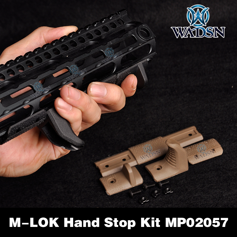 Tactical M-LOK Hand Stop Kit For M LOK Attachment System m-lok handguard 4 Pcs/set Acessorios Airsoft MP02057(China)