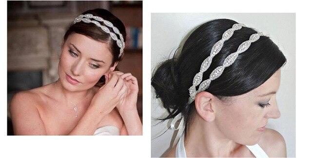 2017 nouvelle mode ceinture et Perle Perle Pendentif de mariage coiffe XH86