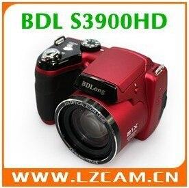 Free Shipping Mini DSLR cheap digital camera S3900HD 16.0MP CMOS 21x optical zoom 5x digital zoom Telephoto Digital Camera