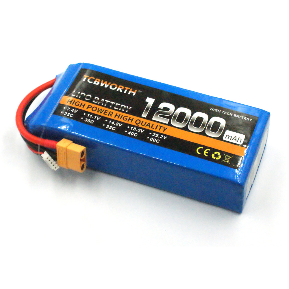 New RC 3S Lipo battery Power 12000mAh 11.1V 25C pour RC Airplane Car Tank Helicopter Toys Models Li-ion Batteria AKKU TCBWORTHNew RC 3S Lipo battery Power 12000mAh 11.1V 25C pour RC Airplane Car Tank Helicopter Toys Models Li-ion Batteria AKKU TCBWORTH