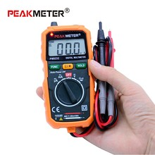 Ammeter Multimeter HYELEC MS8232 Non Contact Mini Digital Multimeter DC AC Voltage Current Tester Data Hold
