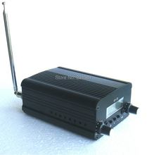 2019 NOVO! 1/conjunto 1w/7w fm estéreo transmissão de rádio estação transmissor fm conversor de áudio built in pll freqüência + pequena antena