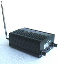2019 nuovo! 1/set 1W/7W FM radio Stereo trasmettitore FM stazione convertitore audio frequenza PLL integrata + piccola antenna