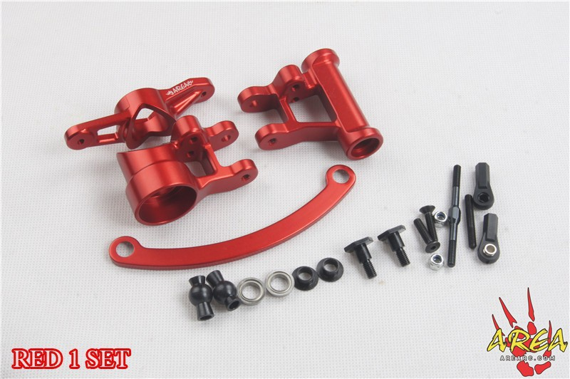 цена на AREA RC Steering Arm V2 compatible with Single&Dual Servo for LOSI 5IVE-T