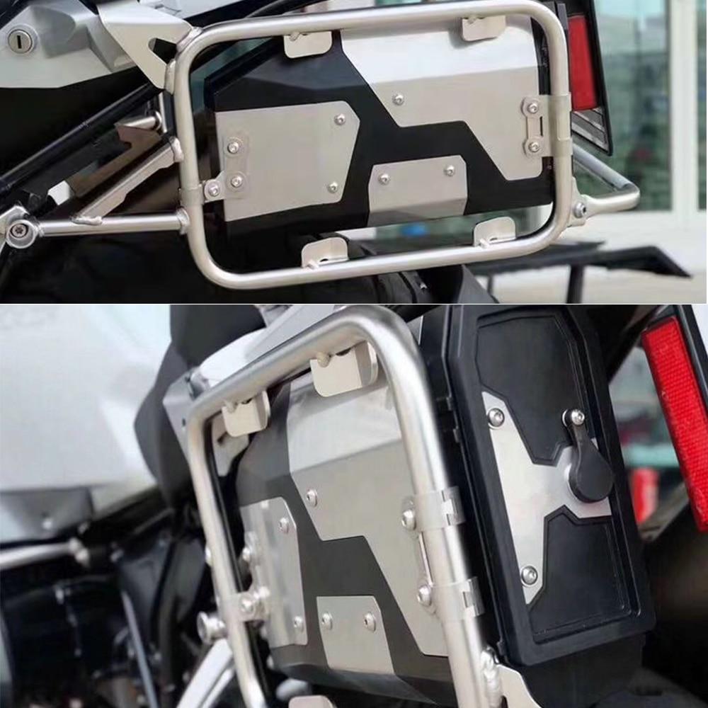 Tudo Novo Para BMW R1200GS/R1250GS LC Adventure 2014-2019 Decorativo Caixa de Ferramentas Caixa de Ferramentas de Alumínio 4.2 Litros lado esquerdo Suporte