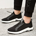 Free shipping 2017 new british style men 's shoes casual flats mesh shoes sport men casual fashion solid color comfortable shoes