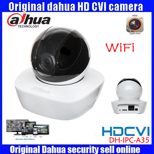 Dahua DH-IPC-A35 3MP baby monitor with Built-in Mic & Speaker HD IP Camera PT 1080P Wi-Fi wireless Network Camera SD Card Slot