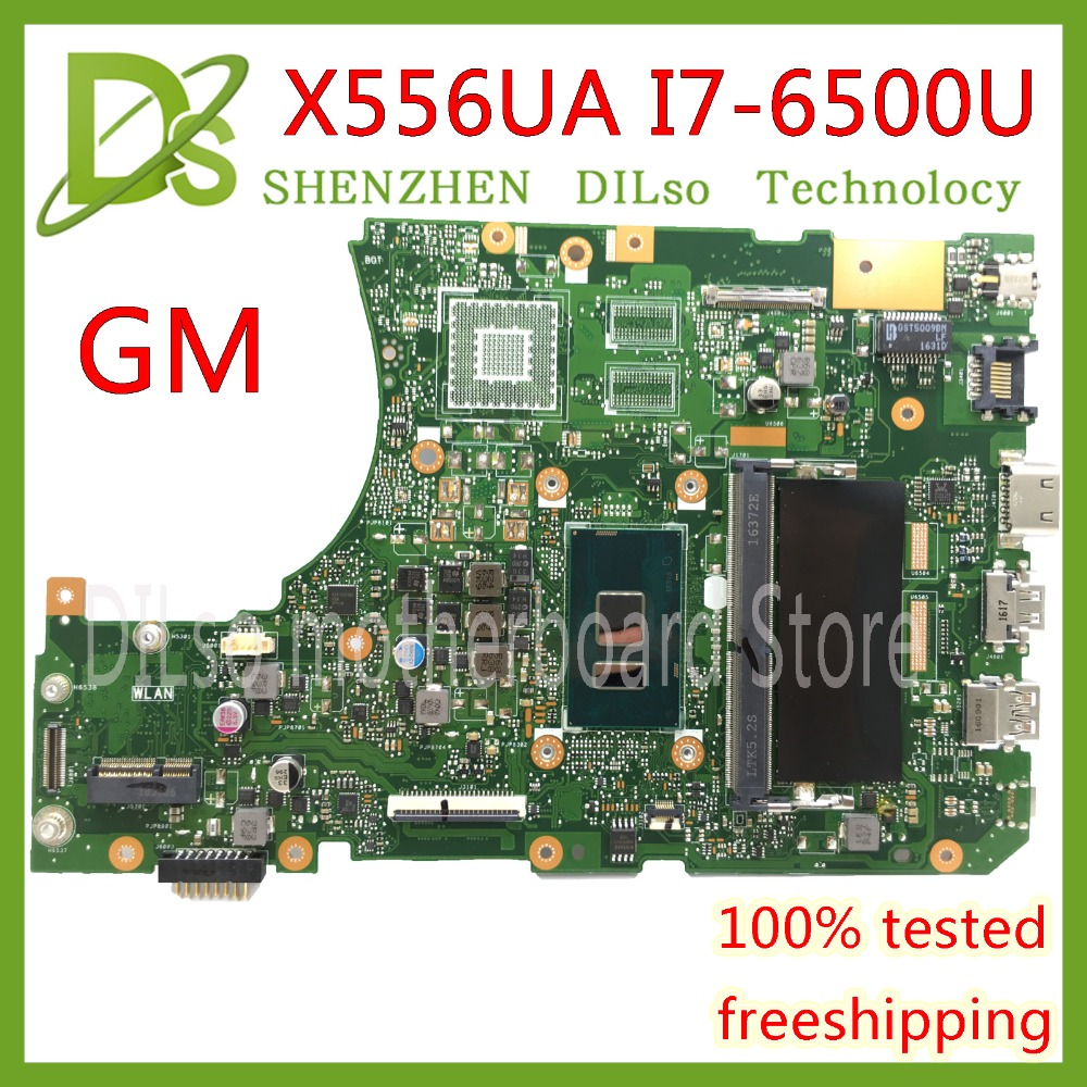 KEFU <font><b>X556UA</b></font> X556UAM motherboard for <font><b>ASUS</b></font> X556U X556UJ X556UV <font><b>X556UA</b></font> laptop motherboard I7-6500U Test original motherboard image