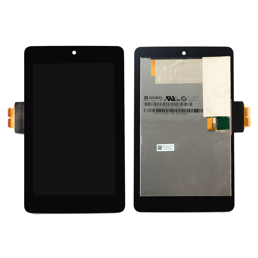 LCD Display + Touch Screen Digitizer Assembly Replacements For ASUS Google Nexus 7 2012 ME370T Free shipping