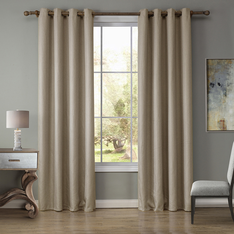 3 Colors Curtain For Living Room Window Curtain Solid