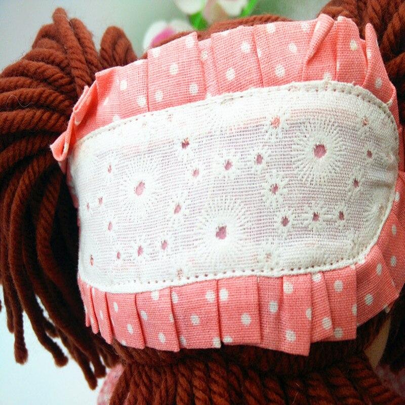 Smafes utstoppa rag dukker leke for jenter 17 tommers mykt baby født - Dukker og tilbehør - Bilde 2