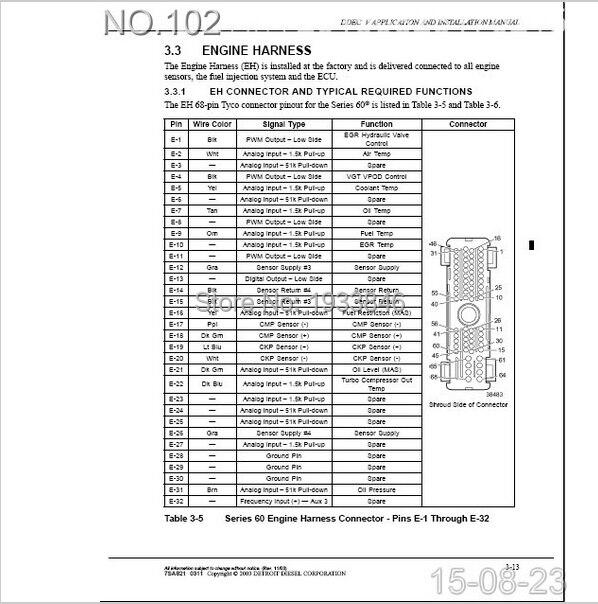 detroit diesel ddec 3 4 5 service manual on aliexpress com rh aliexpress com 60 Detroit Diesel Truck Detroit Diesel DD15