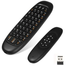Wireless Game Keyboard Android Remote Controller Rechargeable 2.4Ghz Keyboard For Smart Tv Box Gyroscope Fly Air Mouse