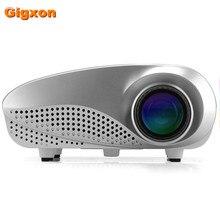 Gigxon H600 TF-tarjeta de decodificador proyector full HD DVD Jugadores mini led proyector