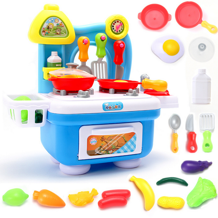Educational enlightenment sound kitchen DIY Have every family pretending to toys
