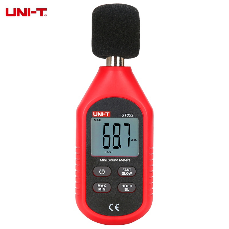 UNI-T UT353 Professionnel Mini Digital Sound Level Meter Noise Decibel Indicateur De Suivi Testeurs 30 ~ 130dB